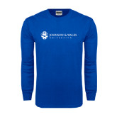 Royal Long Sleeve T Shirt-University Mark
