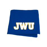 Royal Sweatshirt Blanket-JWU