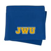 Royal Sweatshirt Blanket-JWU