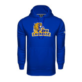 Under Armour Royal Performance Sweats Team Hoodie-Lacrosse