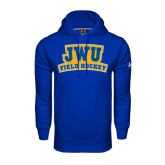 Under Armour Royal Performance Sweats Team Hoodie-JWU Field Hockey