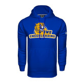 Under Armour Royal Performance Sweats Team Hoodie-Cheerleading