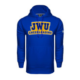 Under Armour Royal Performance Sweats Team Hoodie-JWU Cheerleading