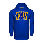 Under Armour Royal Performance Sweats Team Hoodie-JWU Rowing