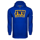 Under Armour Royal Performance Sweats Team Hoodie-JWU Sailing
