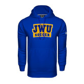 Under Armour Royal Performance Sweats Team Hoodie-JWU Soccer