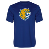Performance Royal Tee-Wildcat Head