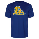 Performance Royal Tee-Lacrosse