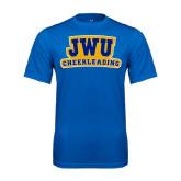 Syntrel Performance Royal Tee-JWU Cheerleading