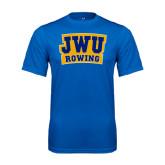 Syntrel Performance Royal Tee-JWU Rowing