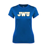 Ladies Syntrel Performance Royal Tee-JWU