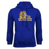 Royal Fleece Hoodie-Lacrosse