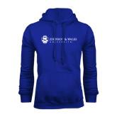 Royal Fleece Hoodie-University Mark