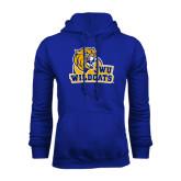 Royal Fleece Hoodie-JWU Wildcats