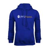 Royal Fleece Hoodie-JWU Alumni