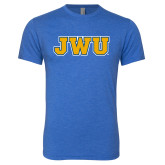 Next Level Vintage Royal Tri Blend Crew-JWU
