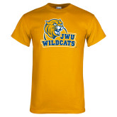 Gold T Shirt-JWU Wildcats