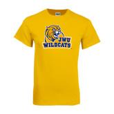 Gold T Shirt-JWU Wildcats