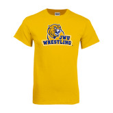 Gold T Shirt-Wrestling