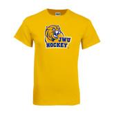 Gold T Shirt-Hockey