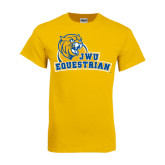 Gold T Shirt-Equestrian