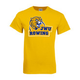 Gold T Shirt-Rowing
