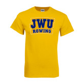 Gold T Shirt-JWU Rowing