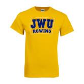 Gold T Shirt-JWU Rowing