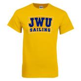Gold T Shirt-JWU Sailing