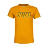 Youth Gold T Shirt-JWU