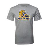 Grey T Shirt-JWU Wildcats