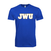 Next Level SoftStyle Royal T Shirt-JWU