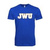 Next Level SoftStyle Royal T Shirt-JWU