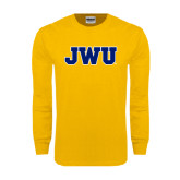 Gold Long Sleeve T Shirt-JWU