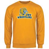 Gold Fleece Crew-Wrestling