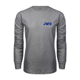 Grey Long Sleeve T Shirt-JWU