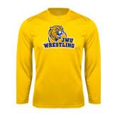 Syntrel Performance Gold Longsleeve Shirt-Wrestling