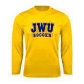 Syntrel Performance Gold Longsleeve Shirt-JWU Soccer