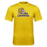 Performance Gold Tee-Lacrosse