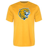 Performance Gold Tee-Wildcat Head