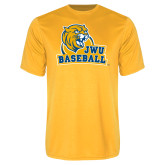 Performance Gold Tee-Baseball
