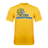 Performance Gold Tee-Equestrian