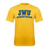 Syntrel Performance Gold Tee-JWU Equestrian