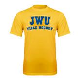 Syntrel Performance Gold Tee-JWU Field Hockey