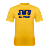 Syntrel Performance Gold Tee-JWU Rowing