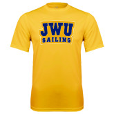 Syntrel Performance Gold Tee-JWU Sailing