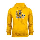 Gold Fleece Hoodie-Hockey
