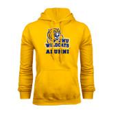 Gold Fleece Hoodie-Alumni