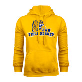 Gold Fleece Hoodie-Field Hockey