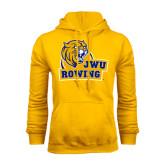 Gold Fleece Hoodie-Rowing